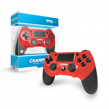 TTX Wireless Pro Controller Red
