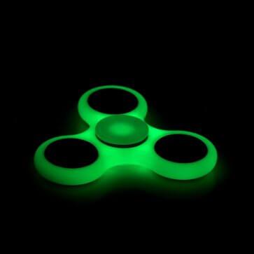 Fidget Spinner - Glow In The Dark - Assorted Colors