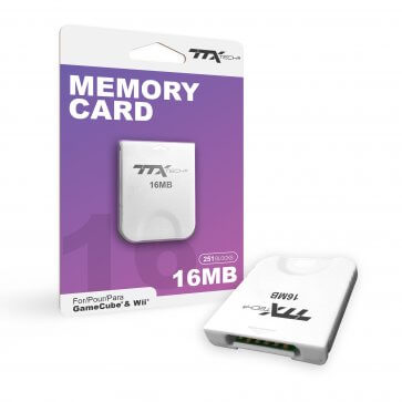 Wii Gamecube 16MB Memory Card