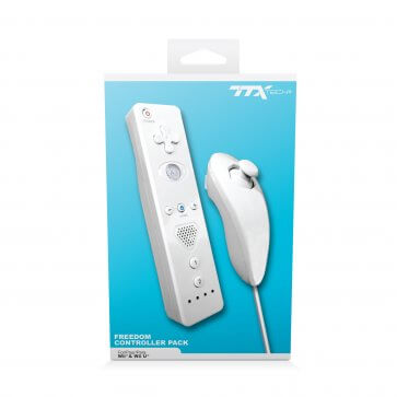 TTX Tech Freedom Controller Pack for Wii & Wii U
