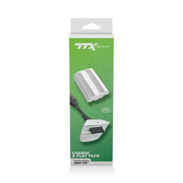 TTX Tech Charge & Play Pack for XBOX360