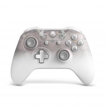 Xbox One S Wireless Controller - Phantom White