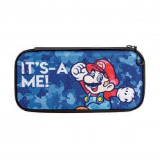 Switch Slim Travel Case - Mario Camo Edition