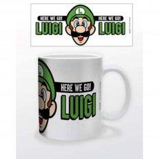 Super Mario - Here We Go Luigi Mug - 11oz