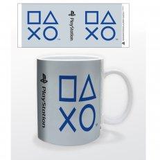 PlayStation Shapes Mug - 11oz - Blue/White