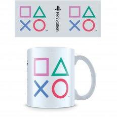 PlayStation Colored Shapes Mug - 11oz - White