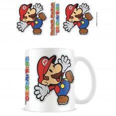 Super Mario - Sticker Mug - 11oz