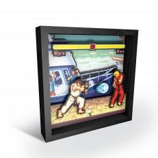 """Pixel Frames - Street Fighter: Boat Scene 6""""x6"""""""