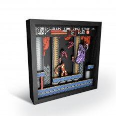 "Pixel Frames - Castlevania: NES Classic 6""x6"""