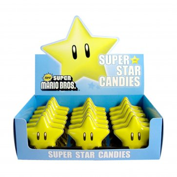 Super Mario Super Star Sour Candy (18-Pack)