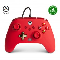 Xbox One / Series X Enhanced Wired Controller - Red