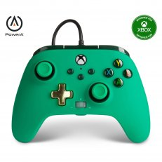 Xbox One / Series X Enhanced Wired Controller - Green