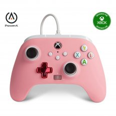 Xbox One / Series X Enhanced Wired Controller - Pink