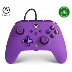 Xbox One / Series X Enhanced Wired Controller - Royal Purple