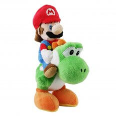"Super Mario - Mario Riding Yoshi 8"" Plush"