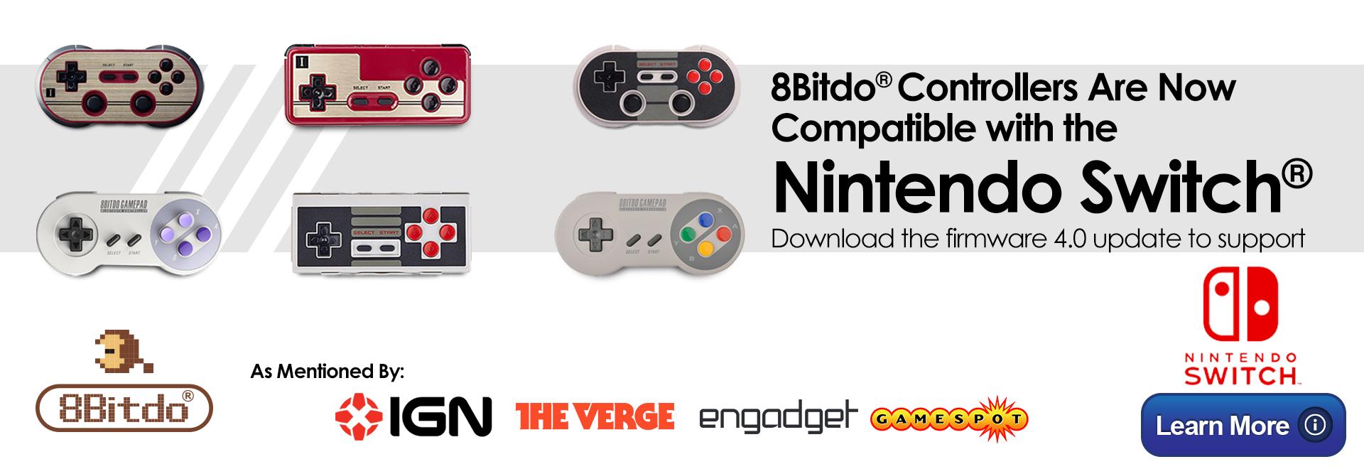 8Bitdo Nintendo Switch