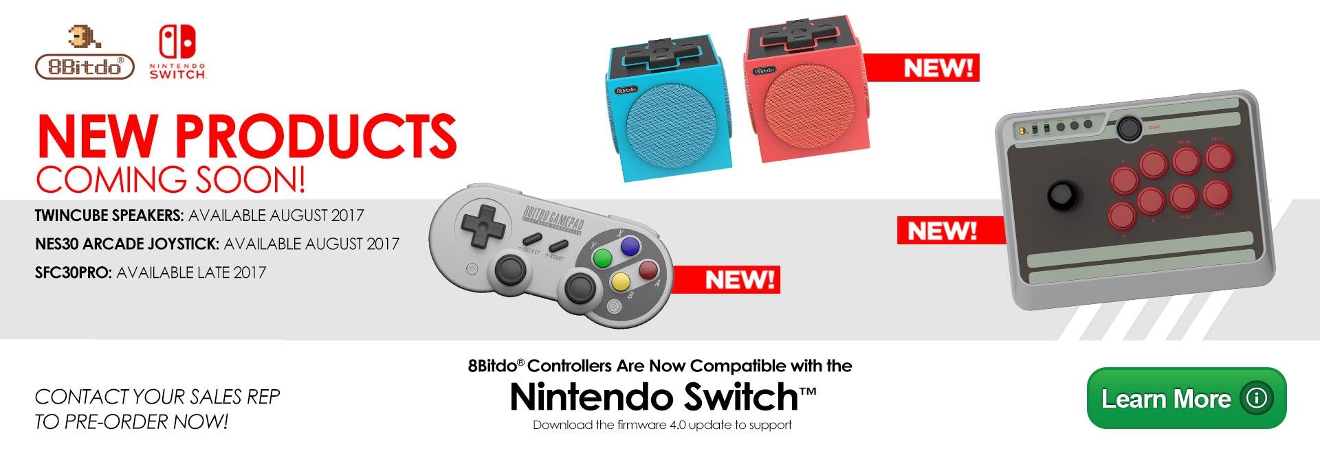 8Bitdo New Releases