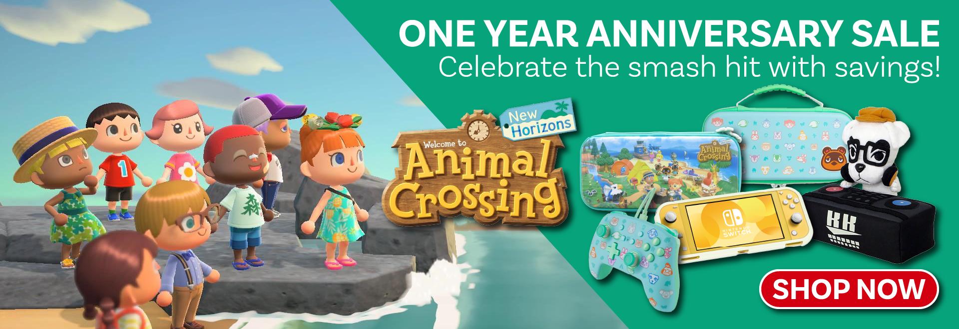 Animal Crossing New Horizons - One Year Anniversary Sale!