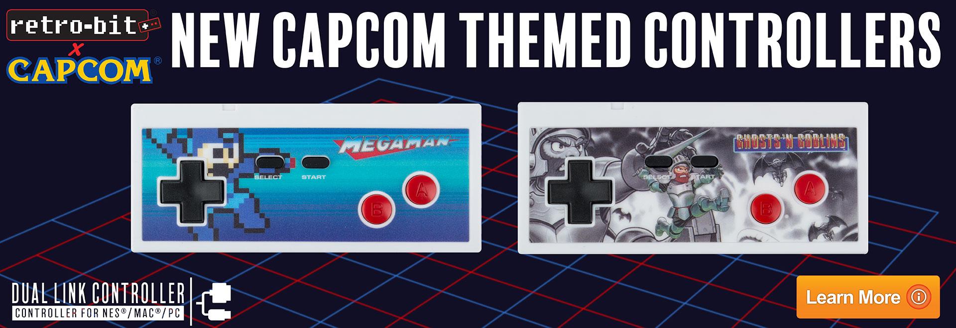 Retro-bit Capcom Controllers