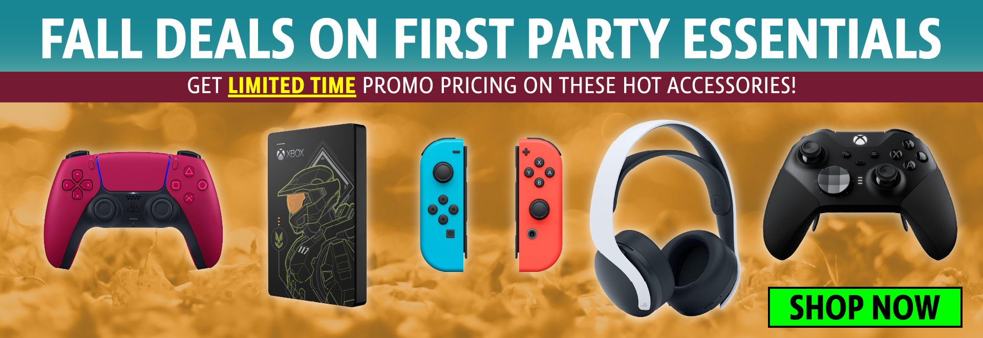 First Party Fall Sales