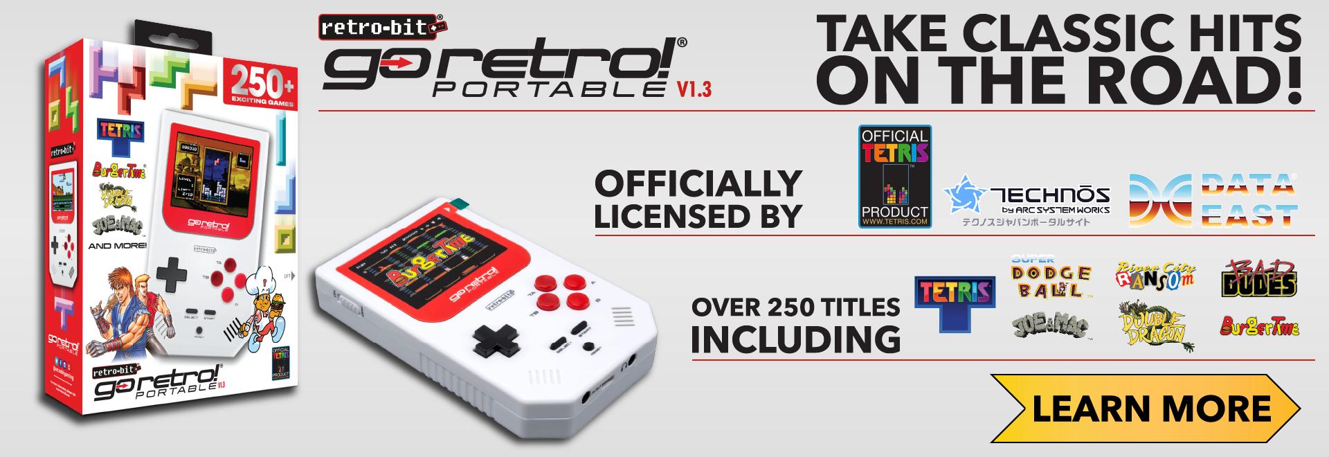 Take Classic Hits on the Road with the Go Retro Portable!