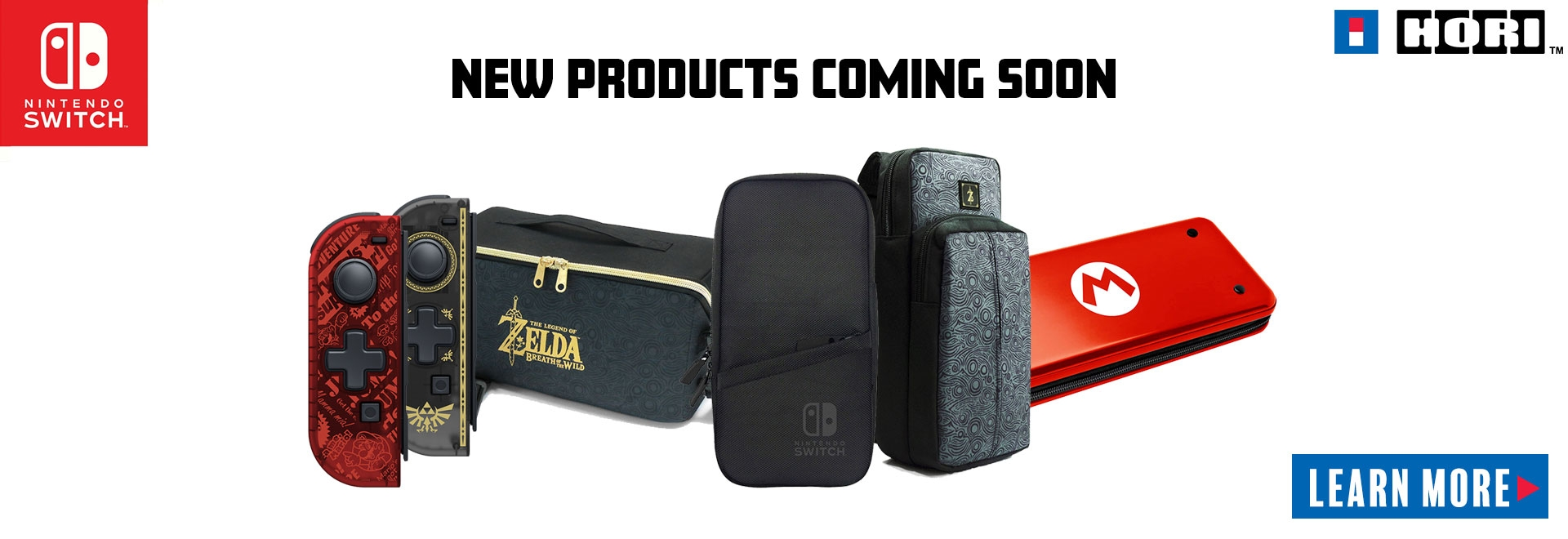 Upcoming Hori Products