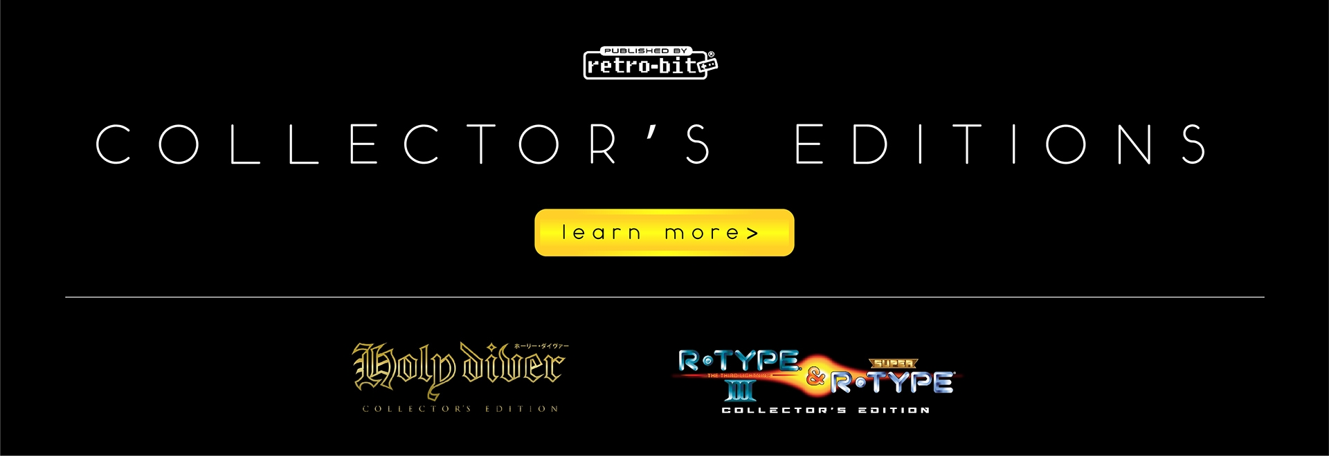Holy Diver & R-Type Collector's Edition