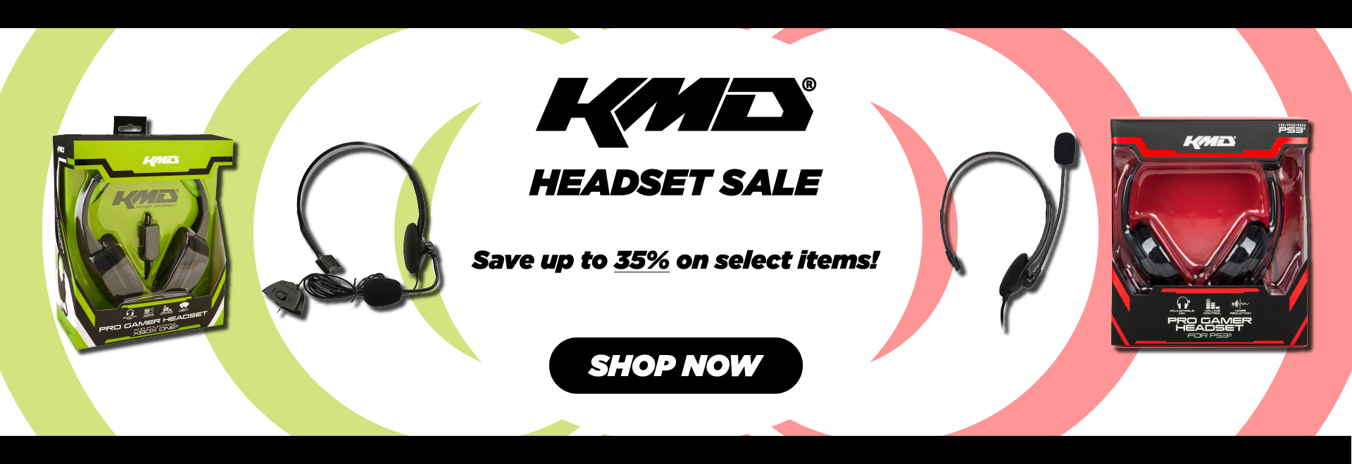 KMD, Headset, Xbox, Xbox 360, Xbox One, PS3, PS4, Microphone