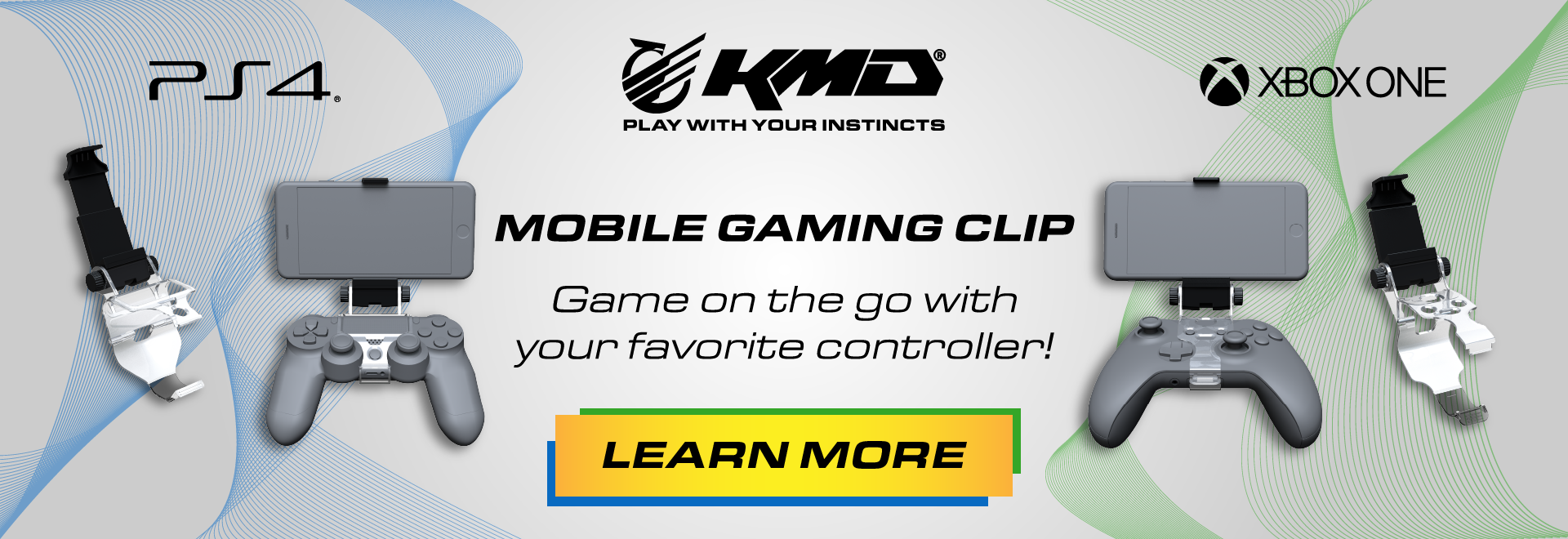Game on the go with KMD Mobile Clips!