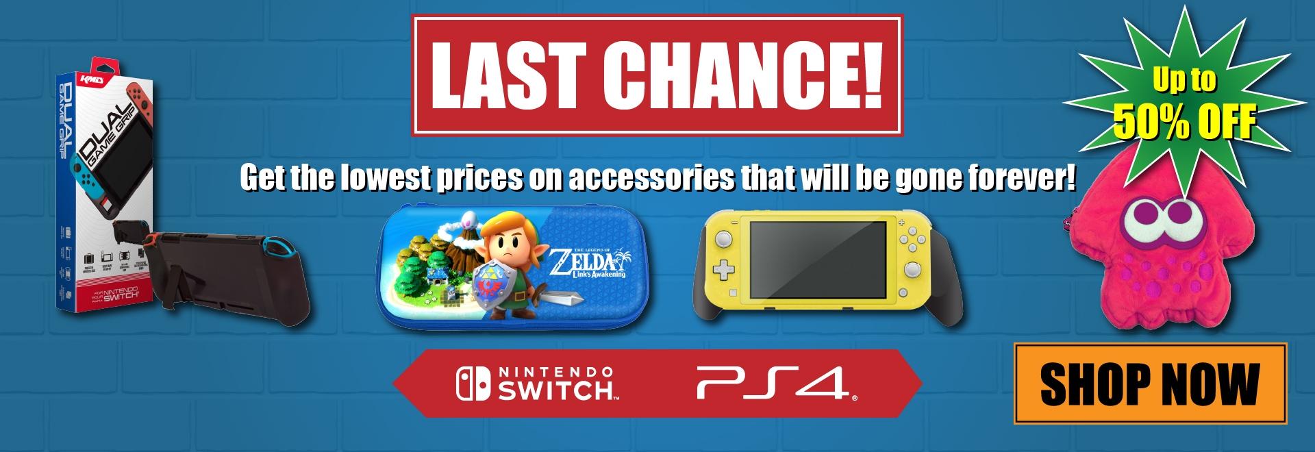 Last Chance Sale - Switch & PS4