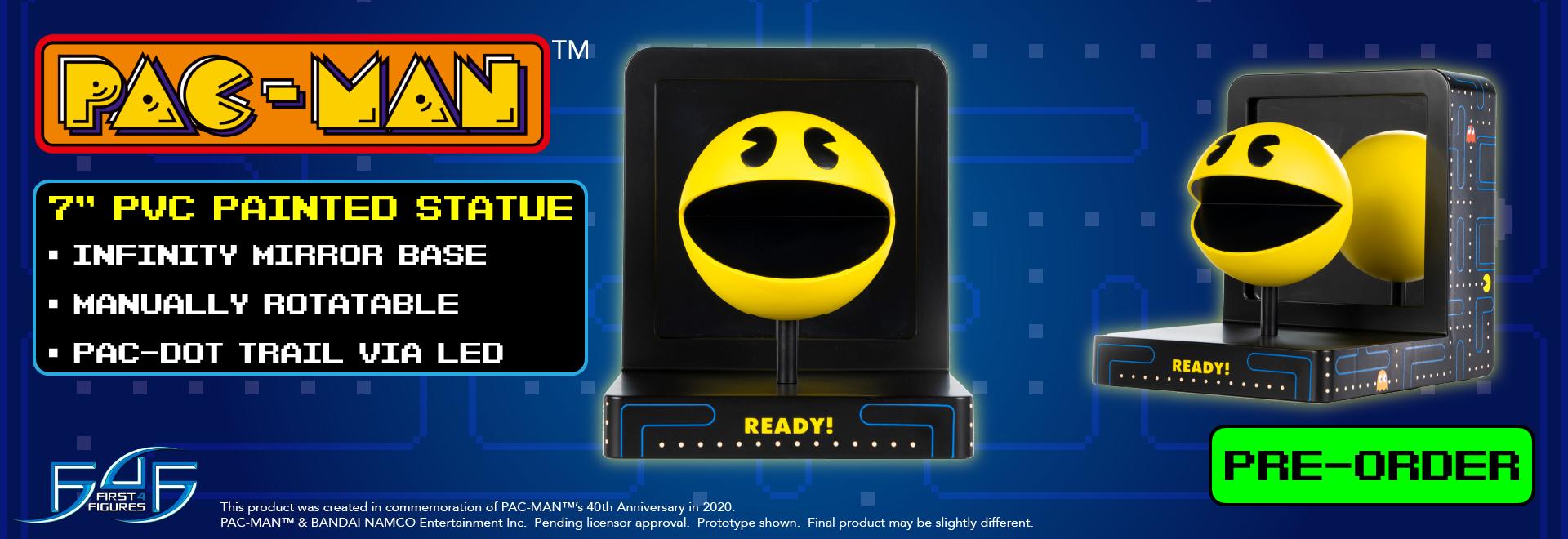 Pac-Man PVC Stature Pre-orders