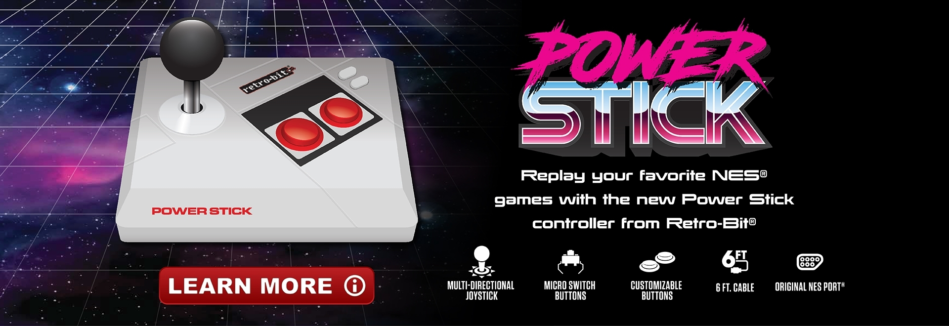 Retro-Bit Power Stick