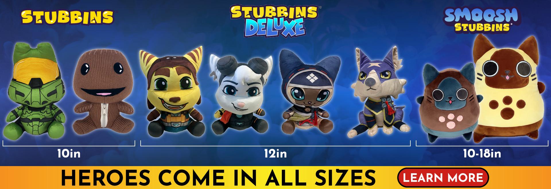 Stubbins - Deluxe and Smoosh Pre-Order
