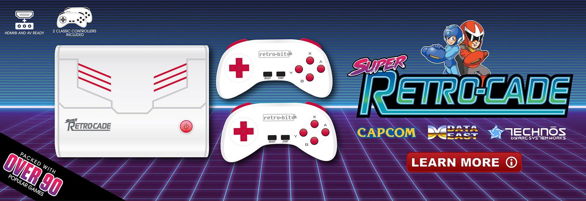 Retro-Bit Super Retro-Cade
