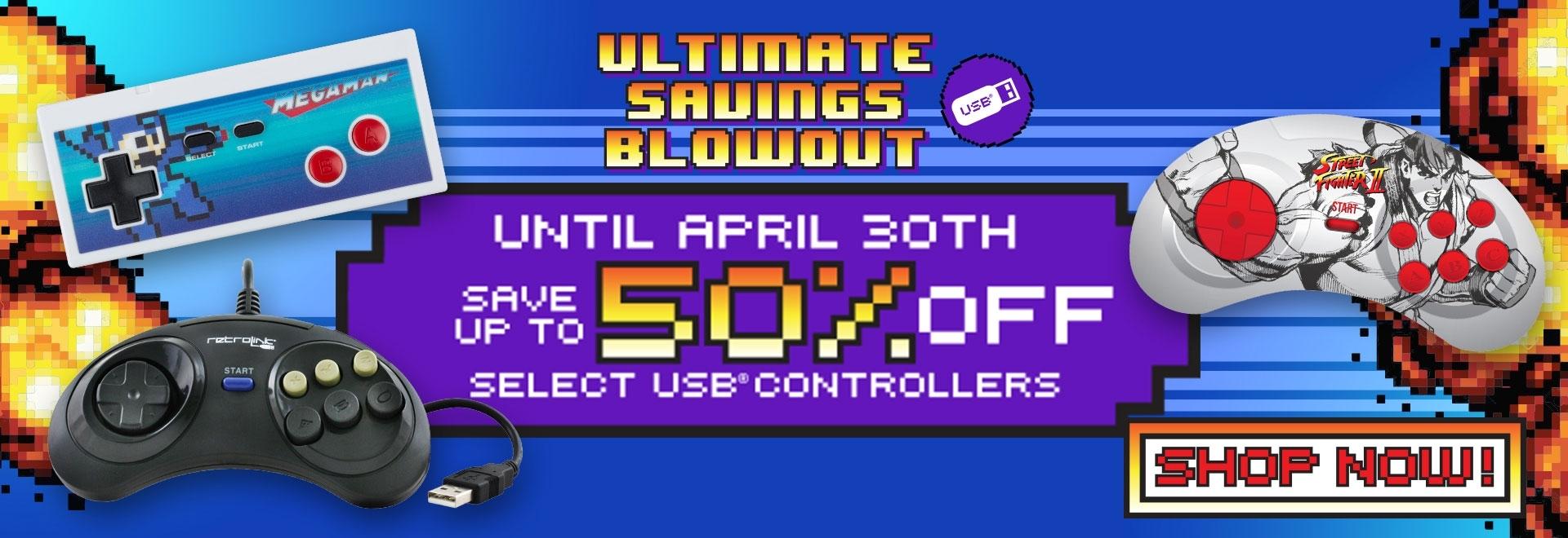 USB: Ultimate Savings Blowout