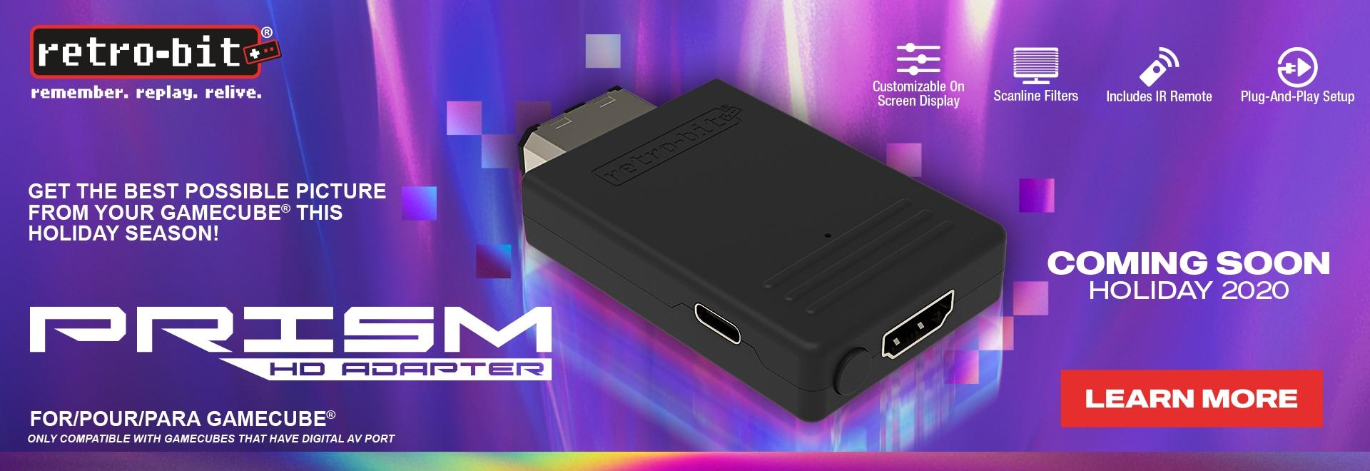 Retro-Bit Prism HD GCN Adapter