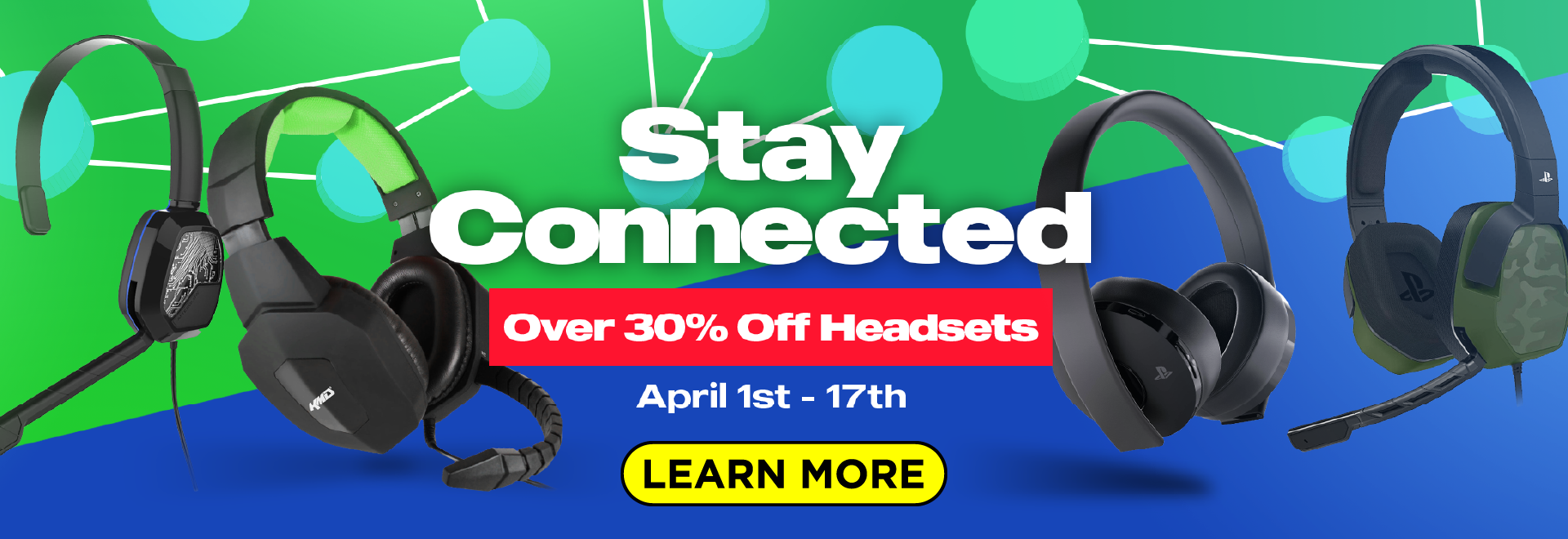 Stay Connected with Headsets