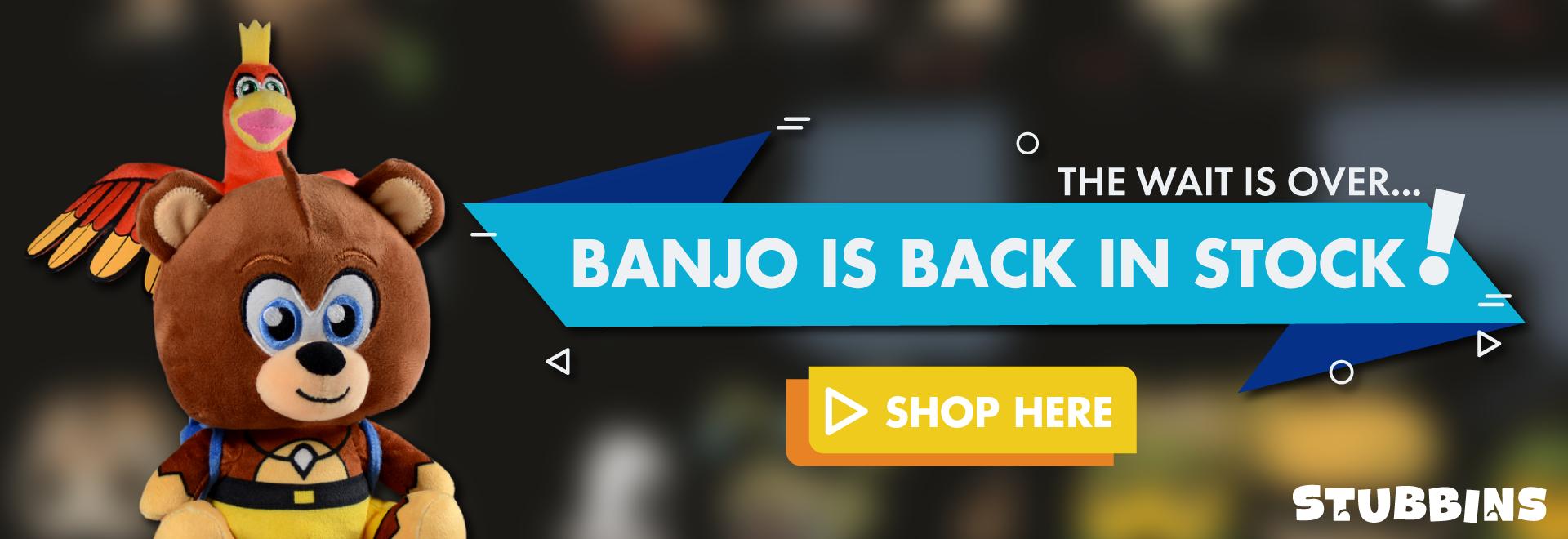 Banjo, Kazooie, Stubbins, Order Now