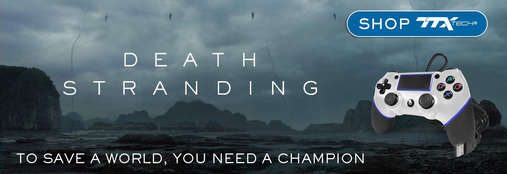 TTX Tech, Champion, PS4, controller, Death Stranding