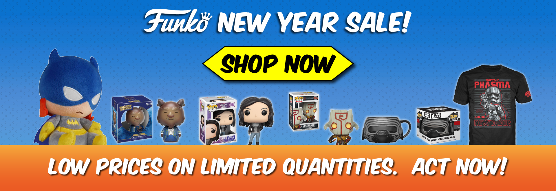 Funko New Year Sale