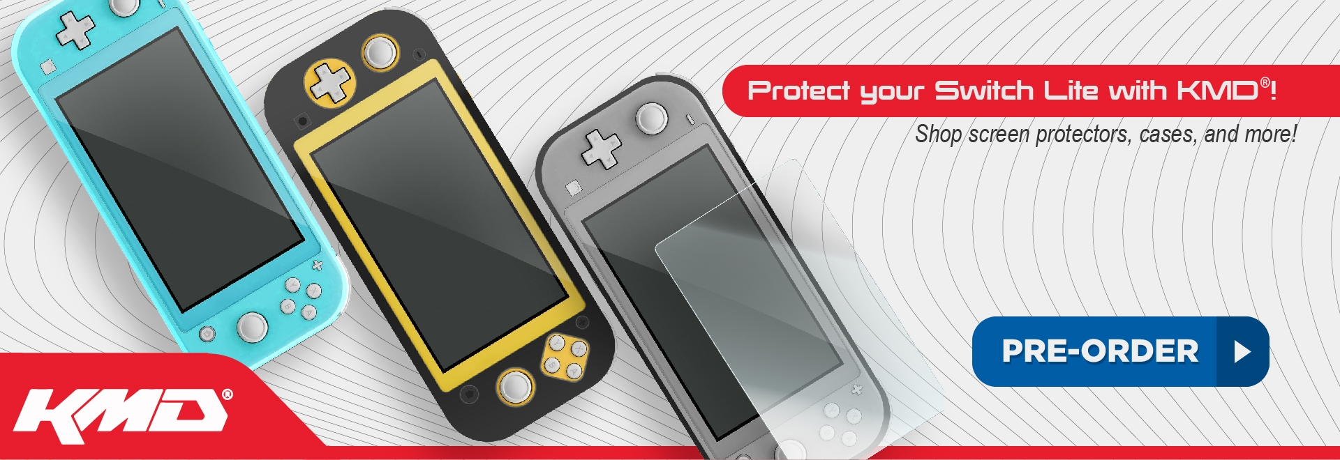 Innex, KMD, Switch, Switch Lite, New, Pre-order, protector, grip, accessories