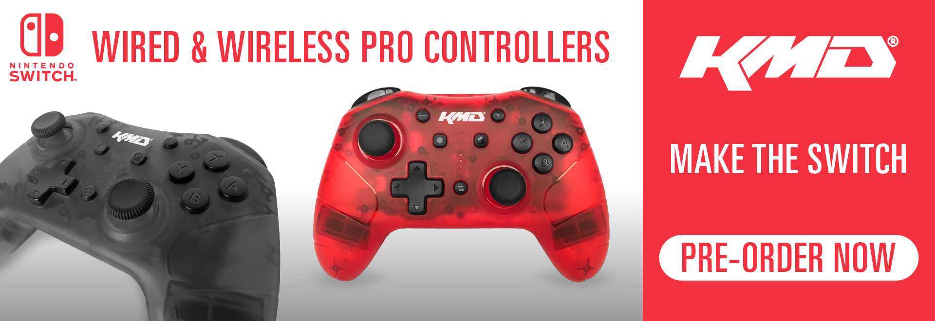 KMD Switch Pro Controllers