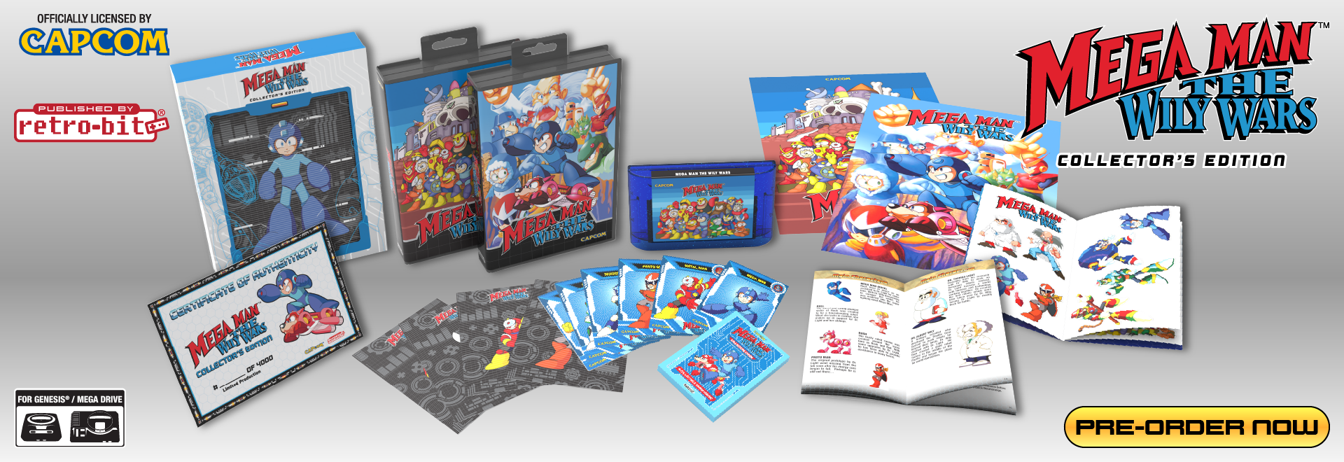 Mega Man: The Wily Wars CE - Pre Order Now