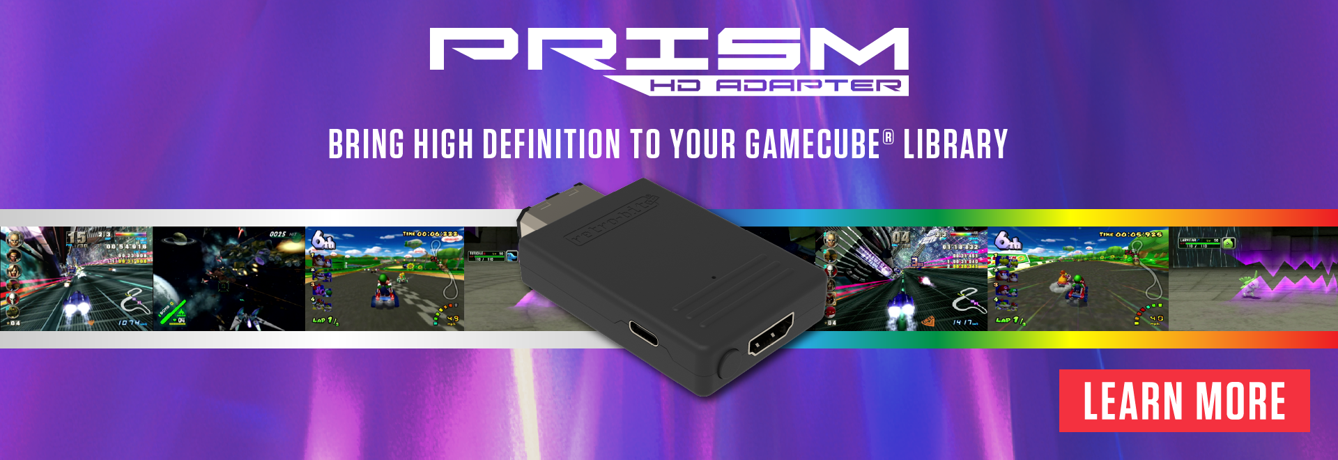 Prism HD Adapter for GameCube®