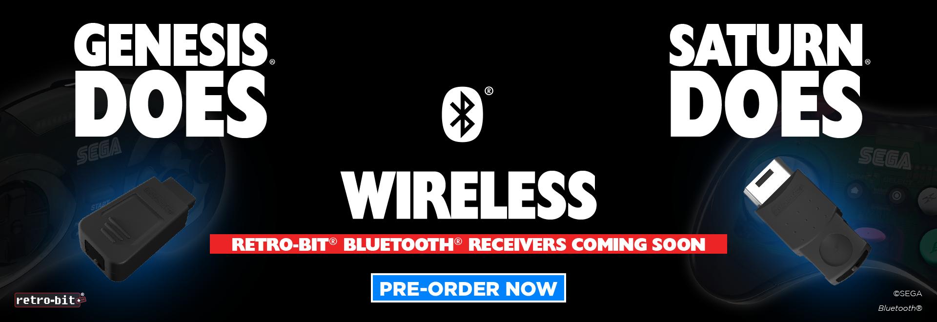 SEGA Does Wireless BT Receivers
