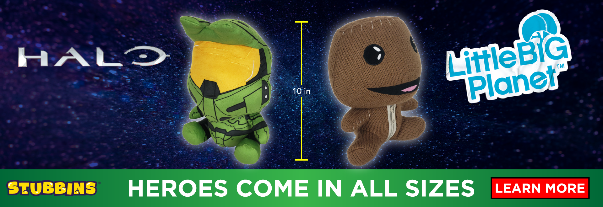 Stubbins - Heroes Come in All Sizes