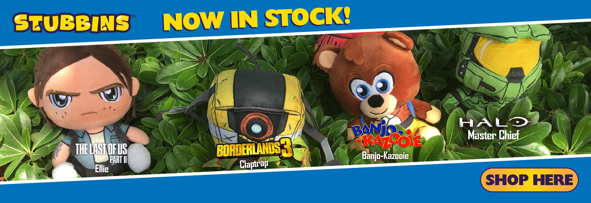 Stubbins - Now in Stock!