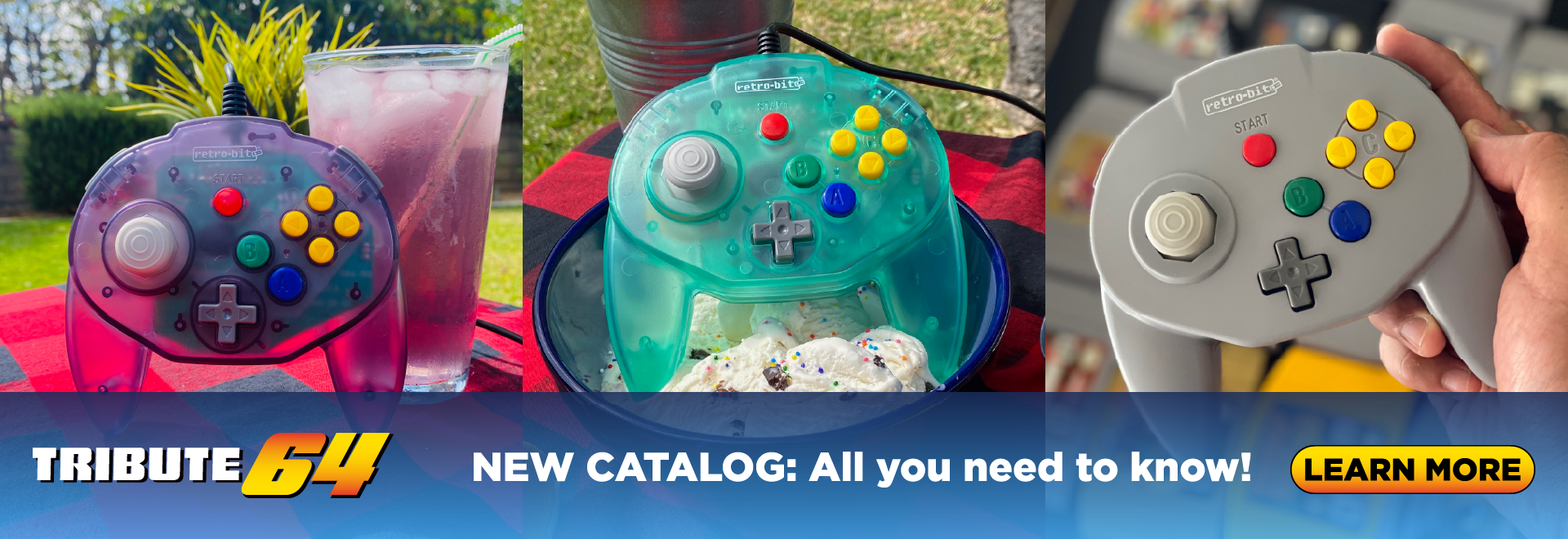 NEW Tribute64 catalog ready to view!