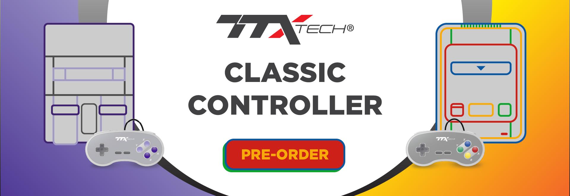 TTX Tech SNES Controllers - Pre Order