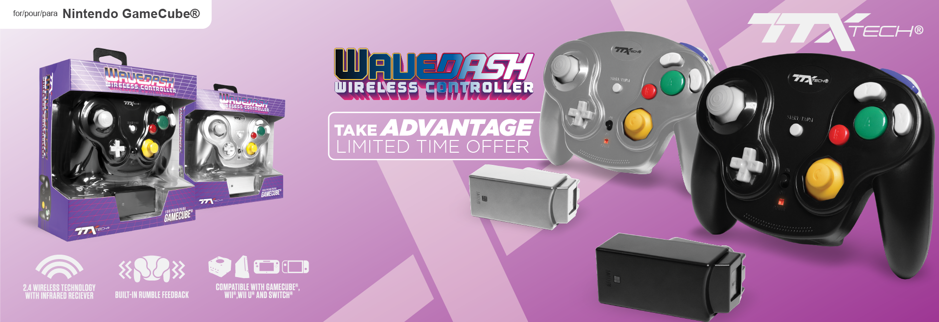 TTX Tech, Wavedash, Gamecube, Wii, WiiU